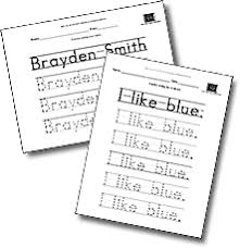 free make your own printable handwriting worksheets handwriting