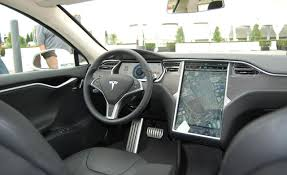 Tesla Interior Model S Future Car Distributed Architecture With Ethernet Backbone Youtube