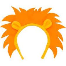 tiger headband handmade animal ear headband lion tiger or by felterrific