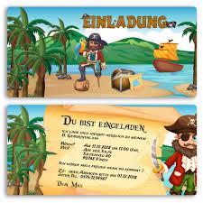 kindergeburtstagssprüche einladungen im piraten design ab 65 cent einladung