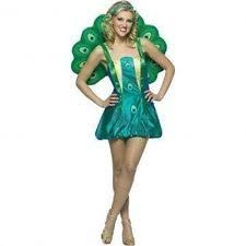 peacock costume ebay