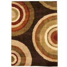 Brown And Orange Area Rug 5 X 8 Area Rugs Rugs The Home Depot