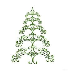 ironwork 2 christmas tree embroidery design