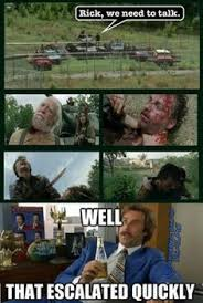 Walking Dead Season 3 Memes - season four memes the walking dead fansite