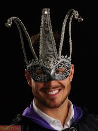 venetian jester mask mens masquerade eye mask venetian joker fancy dress costume