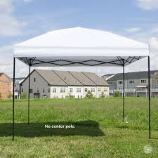 Steel Pop Up Gazebo Waterproof by Pop Up Canopy Tent 10 X 10 Feet White Uv Coated Waterproof