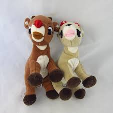 rudolph red nosed reindeer clarice plush toys 6 u0027s worth