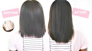1 inch of hair grow your hair 2 inches in just 1 week hair growth serum youtube