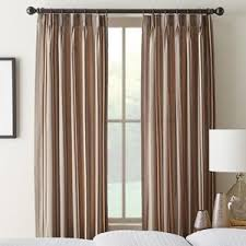 Pinch Pleated Drapes Traverse Rod Pinch Pleated Drapes And Pleat Curtains Selectblinds Com