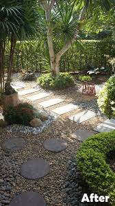grass not cutting it then why not use stone thai garden design