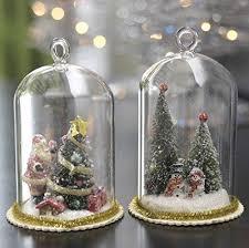 raz imports tree in glass dome ornaments glass domes