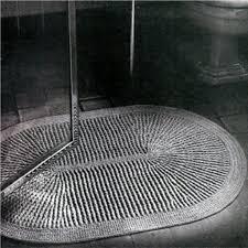 Oval Bath Rugs Stylish Gray Oval Bath Rug For Modern Bathroom Plan Using Glass