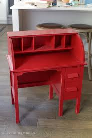 Wooden Furniture Paint How To Paint Over Bright Or Dark Coloured Furniture Vintage Kid U0027s