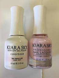 kiara sky matching gel polish nail lacquer the simple life 5