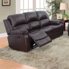 Leather Reclining Sofa With Console by Sofa Entrancing Mahoney Reclining Sofa Dual Sided Recliner