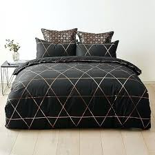 astonishing black and gold quilt cover 21 for trendy duvet covers