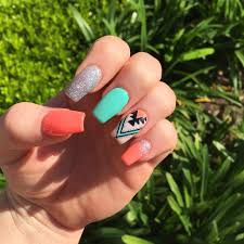 9 cute nail designs for acrylics cute acrylic nail designs for