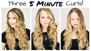three 5 minute curls youtube