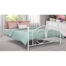Walmart White Bed Frame Spa Sensations Steel Smart Base Bed Frame Black Sizes