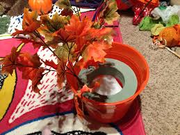 5 dollar tree fall centerpiece upcycle youtube loversiq