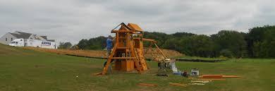 summerstone cedar summit premium play sets cedar swing set