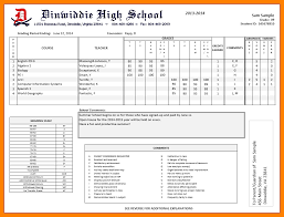 high school student report card template high school report card template pdf fieldstation co