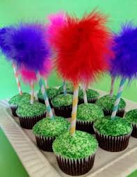 preschool crafts for kids earth day truffula tree cupcakes recipe