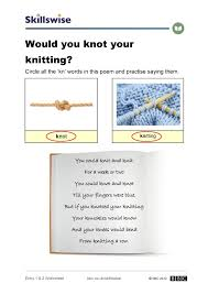 would you knot your knitting