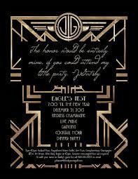gatsby invitations gatsby themed invitation we like design