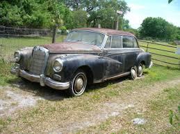 mercedes adenauer mercedes 300d adenauer 1957 sunroof sedan for sale