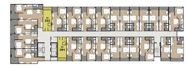residence building a floor plan cview condos pattaya official site
