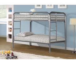 Metal Bunk Bed Frame Metal Bunk Beds Silver Bunk Bed