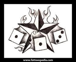 5 point star tattoos
