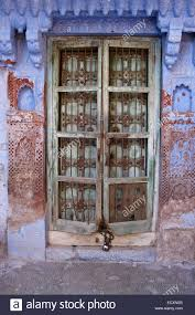 Rajasthani Home Design Plans by Old Door Of House In The Blue City Jodhpur Rajasthan India