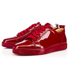 louis junior men u0027s flat carmin patent leather men shoes