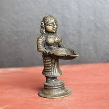 Vintage Antique Home Decor 1800 U0027s Old Vintage Antique Brass Ram Sita Statue Home Decor