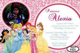 disney princess birthday invitations christmanista com