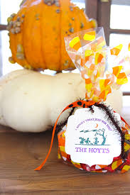 personalized halloween treat bags customized halloween candy favors