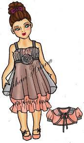 desain baju gaun anak desain anak jihanhusna spesialis rumah jahit desainer