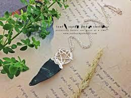 blood stone pentagram pendant silver cat no 685 u2013 leaf seed