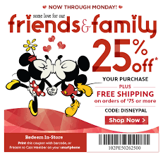 disney store save 25 sitewide presidents day sale ends