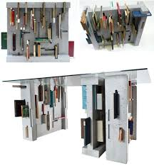 art table with storage heavy reading concrete table with built in book storage