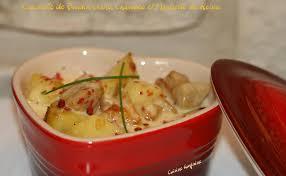 cuisiner boudin blanc recette cassolette de boudin blanc au chaource et à la moutarde