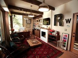 rainn wilson u0027s home office man cave man caves diy
