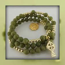 connemara marble rosary connemara marble rosary bracelet i everything