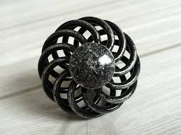 antique looking cabinet hardware antique black silver dresser drawer knobs pulls handles wrought iron