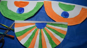 indian republic or independence day craft kids craft patriotic