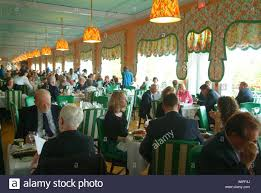 Main Dining Room by Usa Michigan Lake Huron Mackinac Island Grand Hotel The Main