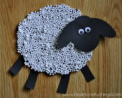 sheep craft for kids i heart crafty things