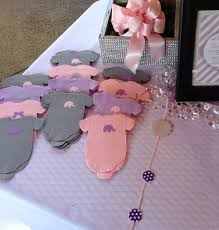 purple elephant baby shower decorations pack of 30 gray and purple lilac baby shower shirt paper napkins